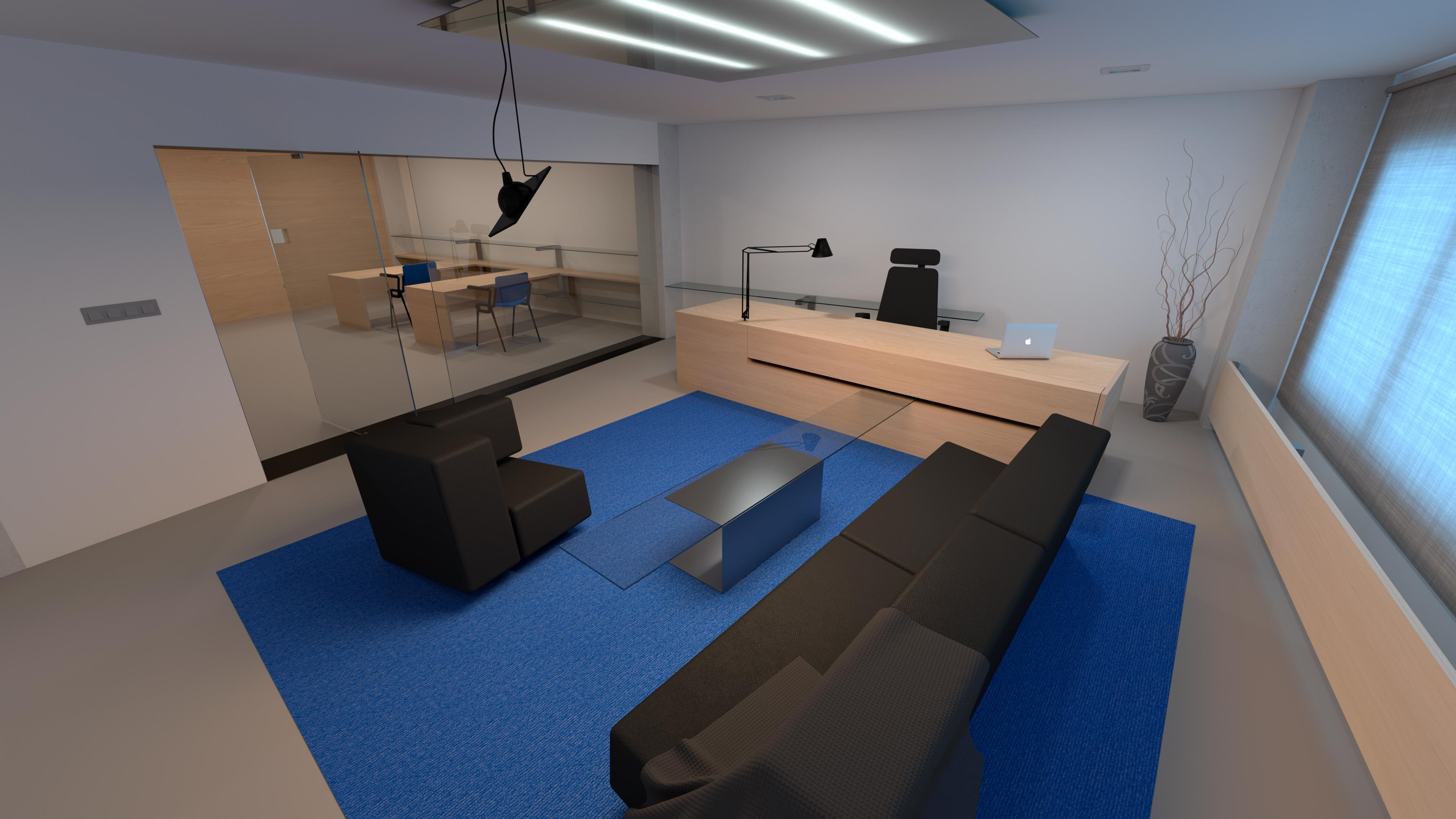 Interiéry ČEZ | vizualizace